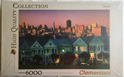 Image of the puzzle 6000, Clementoni, San Francisco, Factory Sealed, Picture of the box