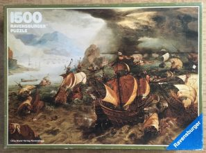 Image of the Puzzle 1500, Ravensburger, Sea Battle, Complete