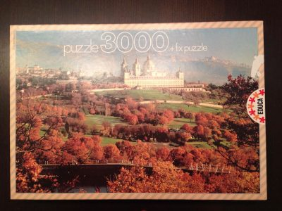 Image of the puzzle 3000, Educa, The Escorial, Madrid, Complete, Picture of the box