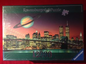 Image of the puzzle 12000, Ravensburger, New York, The City That Never Sleeps, Picture of the box