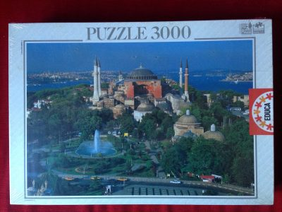 Image of the puzzle 3000, Educa, Istanbul, Turkey, Factory Sealed