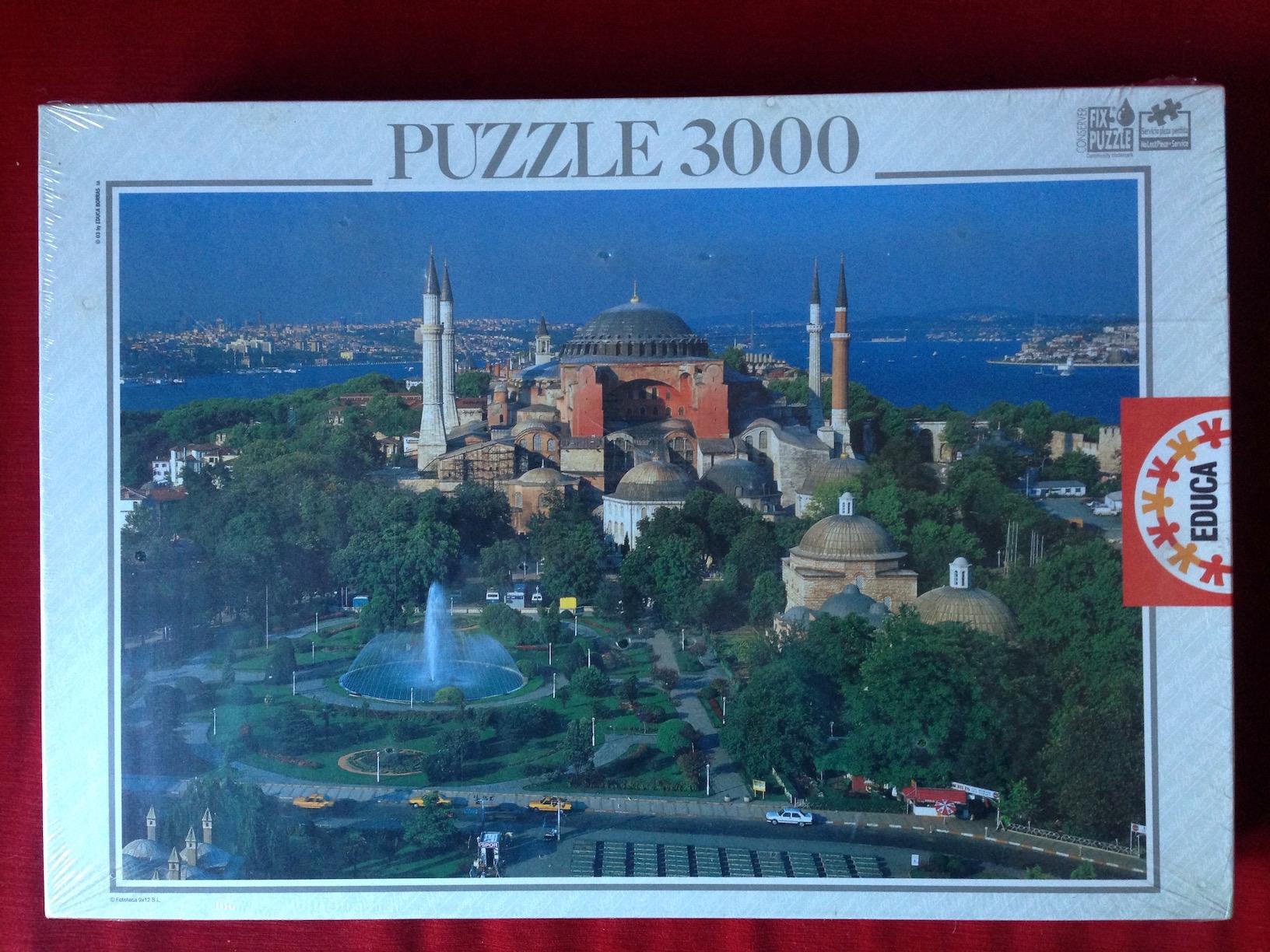 Image of the puzzle 3000, Educa, Istanbul, Turkey, Factory Sealed