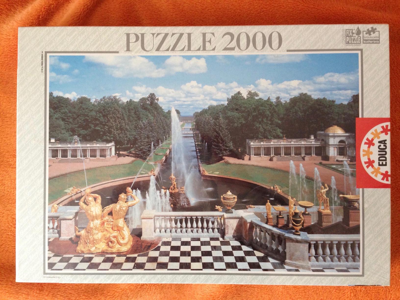 Image of the Puzzle 2000, Educa, Petrodvorets, Saint Petersburg