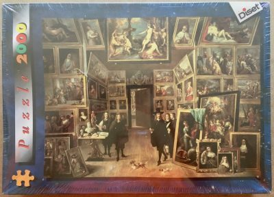Image of the puzzle 2000, Diset, Archduke Leopold William's Gallery, by David Teniers the Younger, Factory Sealed, Picture of the box