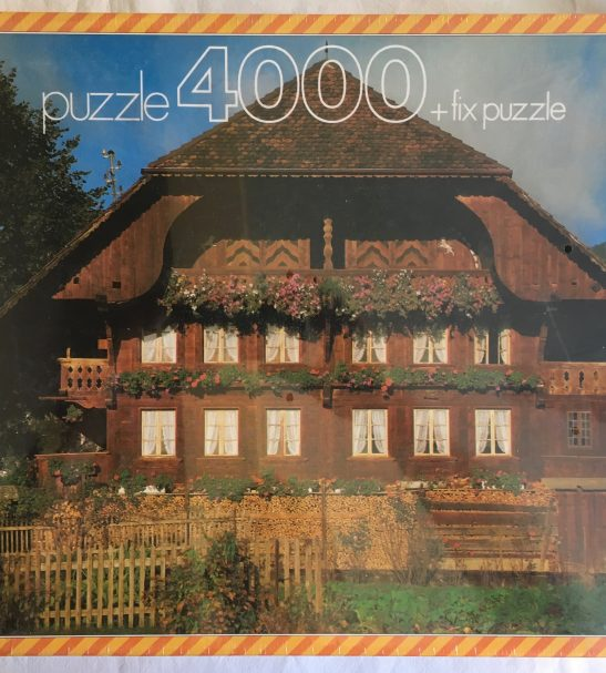 Image of the Puzzle 4000, Educa, Tyrolean House, Factory Sealed