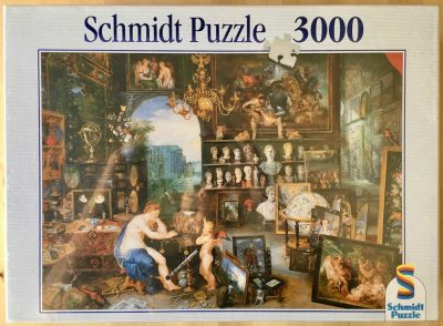 Image of the puzzle 3000, Schmidt, Allegory of Sight, by Jan Brueghel the Elder & Peter Paul Rubens, Factory Sealed