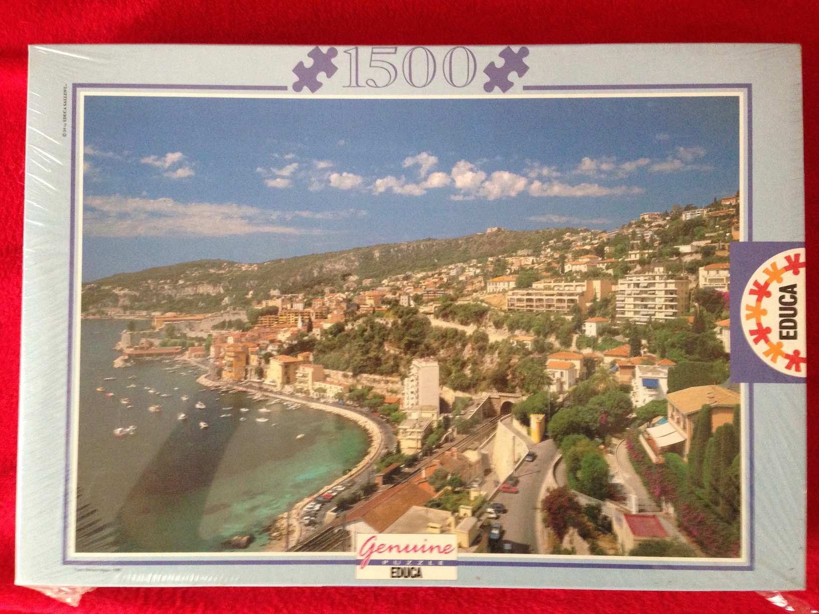 Image of the puzzle 1500, Educa, Villefranche-sur-Mer, France