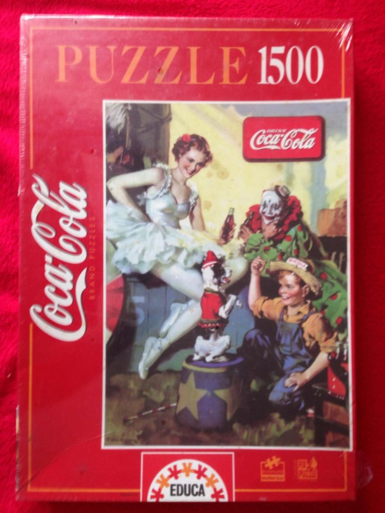 Image of the puzzle 1500, Educa, Coca Cola, Factory Sealed