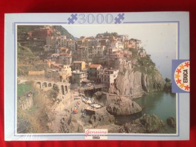 Image of the puzzle 3000, Educa, Manarola, Cinque Terre, Factory Sealed