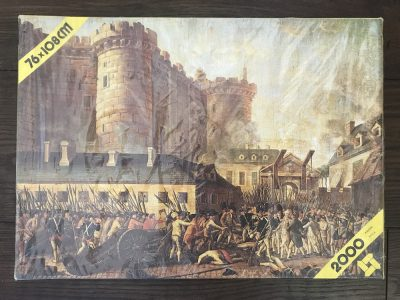 Image of the puzzle 2000, Scandecor, Arrest of De Launay, Anonymous, Factory Sealed