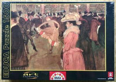 Image of the Puzzle 1500, Educa, The Dance of the Moulin Rouge, Factory Sealed