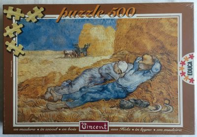 Image of the Puzzle 500, Educa, Rest from Work, Factory Sealed