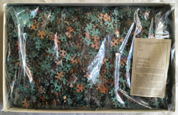 Image of the Puzzle 5000, Falcon, Le Moulin de la Galette, Sealed Bag, Picture of the Bag