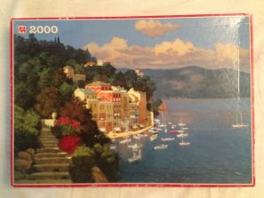 Image of the puzzle 2000, Jumbo, Morning Walk, by Lucio Sollazzi, Complete, Picture of the box
