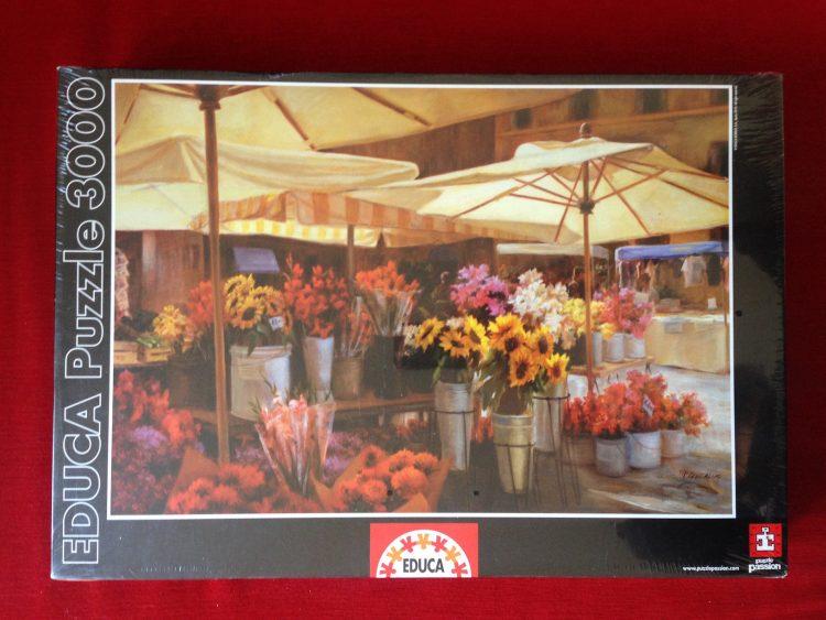 Image of the puzzle 3000, Educa, Campo di Fiori, Jan McLaughlin, Factory Sealed