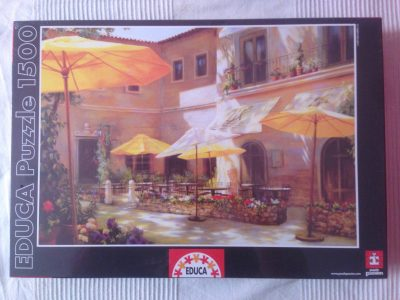 Image of the puzzle 1500, Educa, Closed on Monday, Jan McLaughlin, Factory Sealed