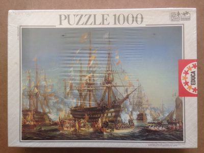 Image of the puzzle 1000, Educa, Queen Victoria, Jules Achille Noël, Factory Sealed