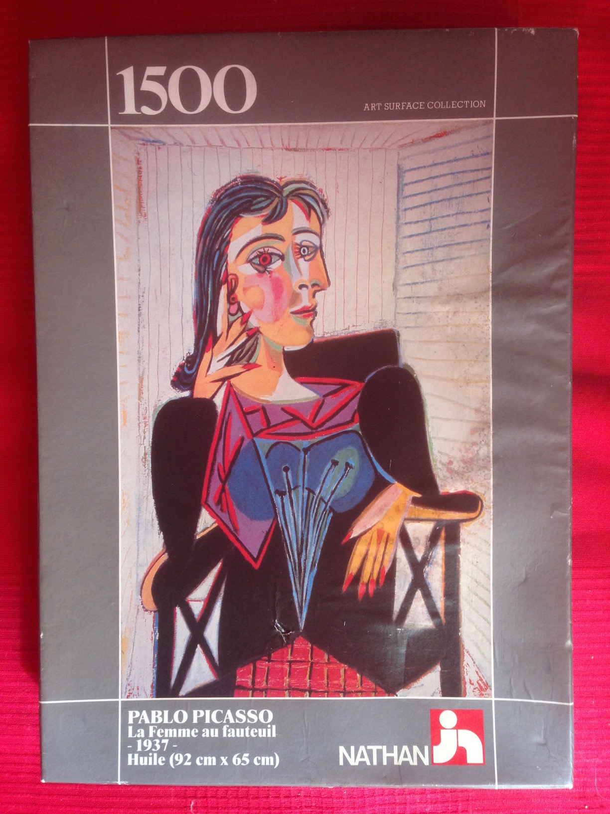 1500, Nathan, Woman in an Armchair, Pablo Picasso - Rare ...