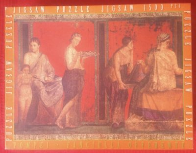 Image of the Puzzle 1500, Impronte Edizioni, Pompei, Fanciulla Offerente, Complete, Picture of the Box