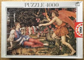 Puzzle 4000, Educa, Love and the Maiden, by Spencer Stanhope, Factory Sealed