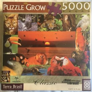Image of the Puzzle 5000, Grow, Terra Brasil, Factory Sealed