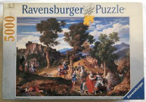 Image of the Puzzle 5000, Ravensburger, Serpentara Landscape and the Three Wise Men, Factory Sealed