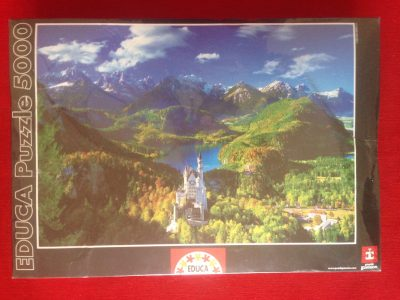Image of the Puzzle 5000, Educa, Neuschwanstein and Surroundings, Factory Sealed