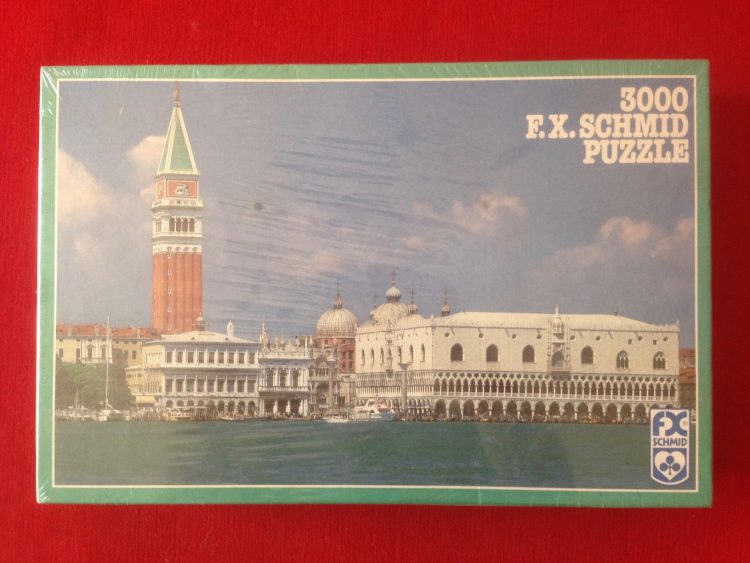 Image of the puzzle 3000, F.X. Schmid, Panorama of Venice, Paolo Marton, Factory Sealed