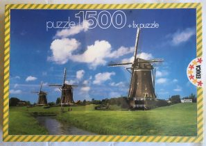 Image of the puzzle 1500, Educa, Dutch Windmills, Factory Sealed