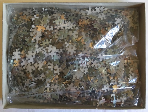 Image of the Puzzle 1500, Waddingtons, Molo Entrance to Grand Canal, Sealed Bag, Picture of the Bag