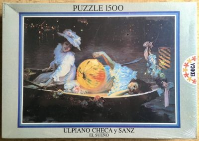 Image of the puzzle 1500, Educa, Carnival Eve, by Ulpiano Checa y Sanz, Factory Sealed