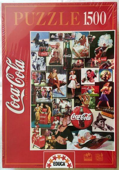 Image of the puzzle 1500, Educa, Coca Cola, Factory Sealed