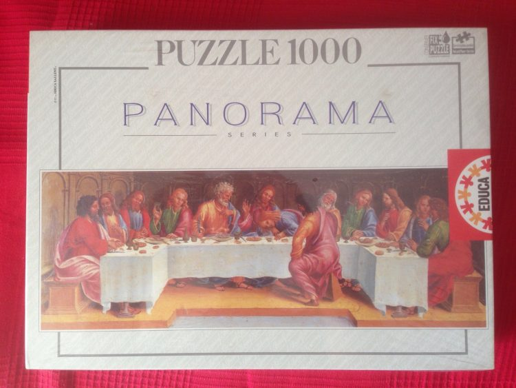 Image of the puzzle 1000, Educa, The Last Supper, Luca Signorelli, Factory Sealed