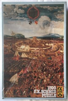 Image of the Puzzle 1500, F.X. Schmid, Siege of Alesia Town, Factory Sealed