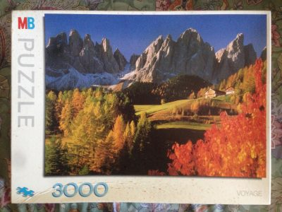 Image of the puzzle 3000, MB, Dolomites, Italy, Sealed Bag, Picture of the box
