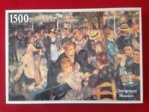 Image of the puzzle 1500, Clementoni, Le Moulin de la Galette, Sealed Bag, Picture of the box