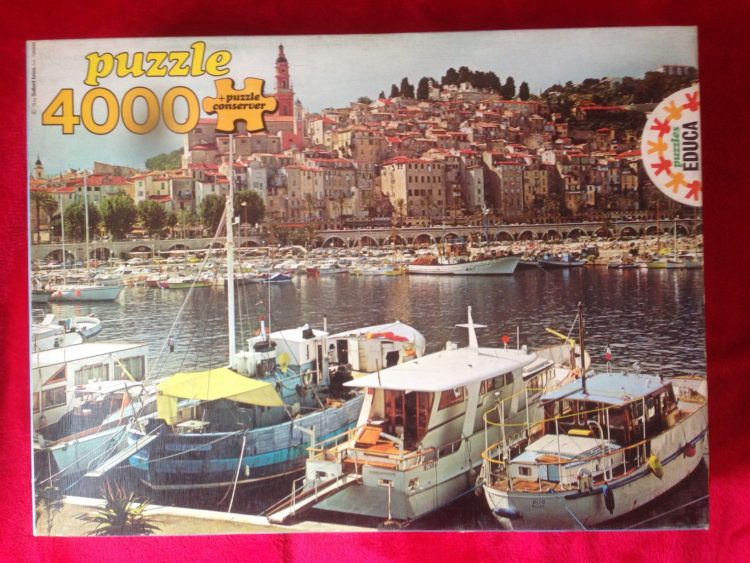 Image of the puzzle 4000, Educa, Menton, France, Sealed Bag, Picture of the box
