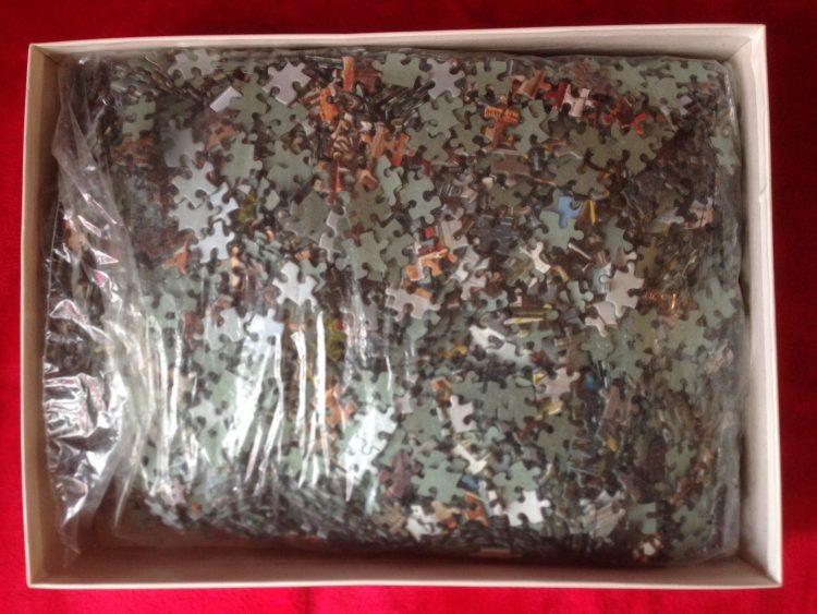 Image of the puzzle 4000, Educa, Menton, France, Sealed Bag, Picture of the bag