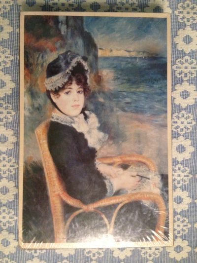 Image of the puzzle 1500, Past Times, By the Seashore, by Pierre-Auguste Renoir, Factory Sealed