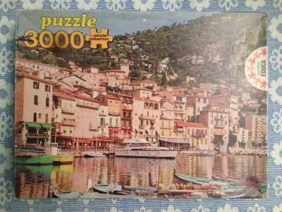 Image of the puzzle 3000, Educa, Villefranche, Côte d'Azur, Complete, Picture of the box