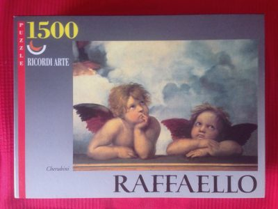 Image of the puzzle 1500, Ricordi, Cherubini, by Raphael, Complete, Picture of the box