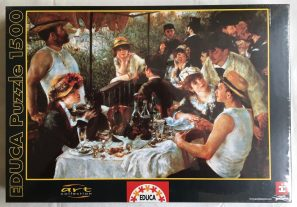 Image of the Puzzle 1500, Educa, Luncheon at the Boating Party, Factory Sealed