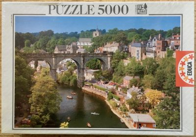 Image of the puzzle 5000, Educa, A Yorkshire Town, Factory Sealed