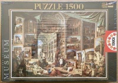 Image of the puzzle 1500, Educa, Roma Antica, by Giovanni Panini, Factory Sealed