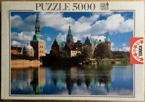 Image of the puzzle Image of the Puzzle 5000, Educa, Fredericksborg Castle, Denmark, Factory Sealed