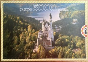 Image of the puzzle 5000, Educa, Neuschwanstein Castle, Germany, Complete, Picture of the box