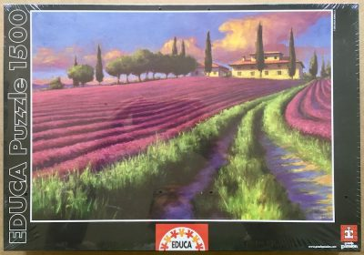 Image of the puzzle 1500, Educa, Lavender Sky, Unknown Artist, Factory Sealed