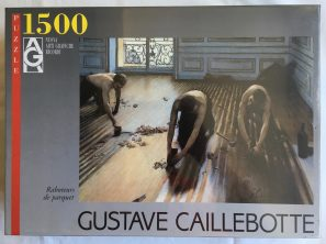 Image of the puzzle 1500, Ricordi, Floor Scrapers, by Gustave Caillebotte, Factory Sealed
