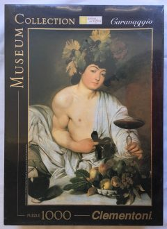 Image of the puzzle 1000, Clementoni, Bacco, by Caravaggio, Factory Sealed