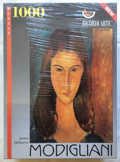 Image of the puzzle 1000, Ricordi, Jeanne Hebuterne, Amedeo Modigliani, Factory Sealed